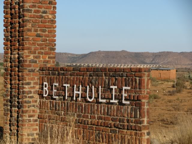 Entrance to Bethulie
