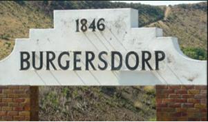 Entrance to Burgersdorp