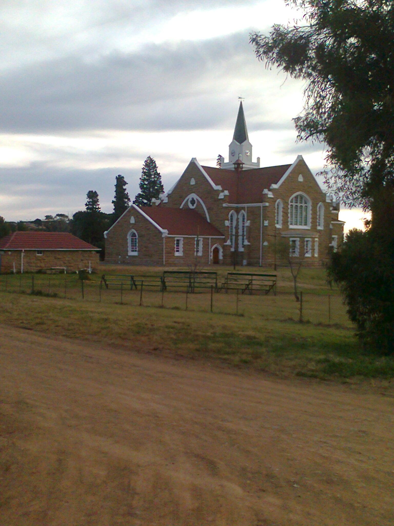 N G church  - side view