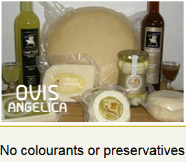 Products from sheep milk