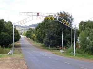 Entrance to Zastron
